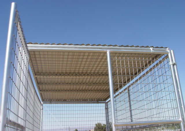 6ft Height Dog Run Kennel With Top Roof Cover Purchasing