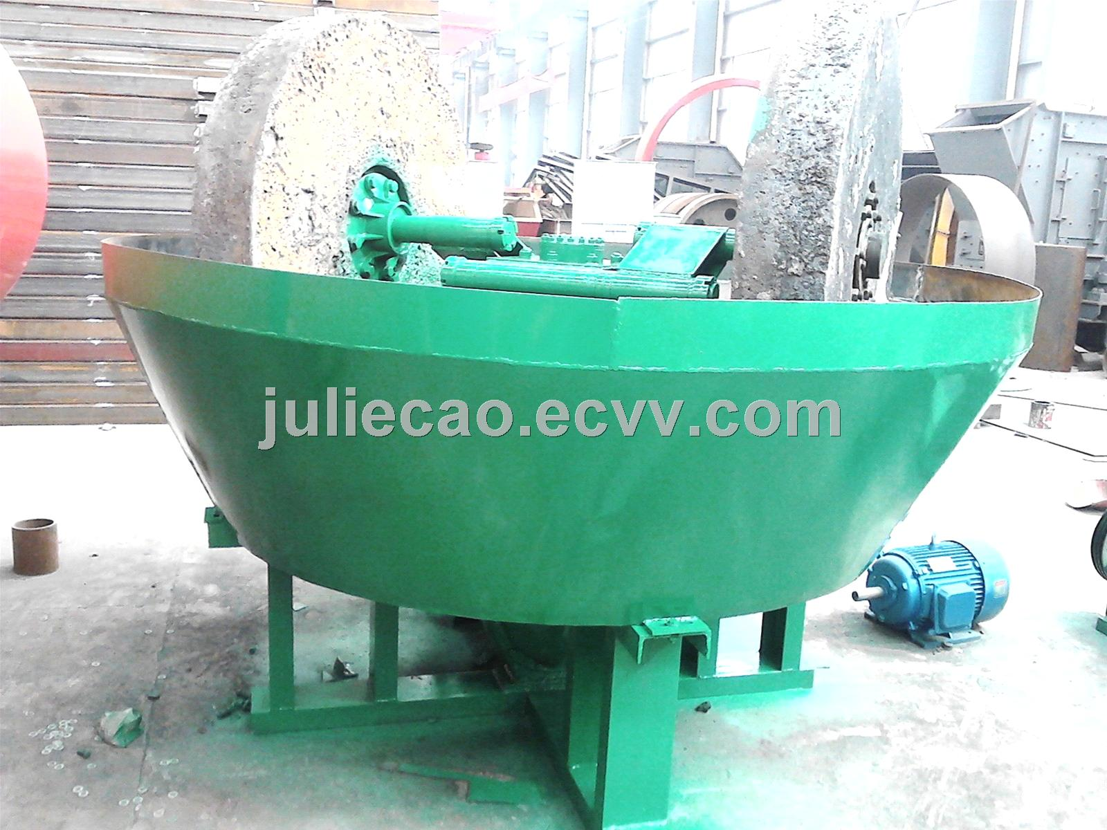 Gold ore beneficiation machine of cone wet grinding machine