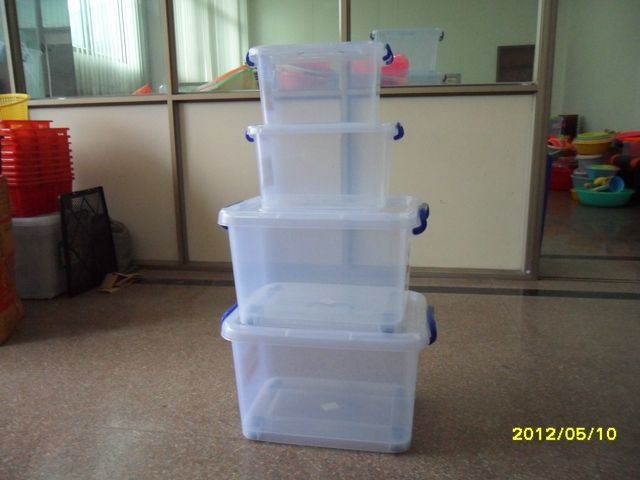 2014 HOT sale plastic storage box and lid