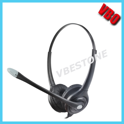 77c22a318d4 Noise-Cancelling Headphone Rj11 Rj9 Call Center Telephone Headset ...