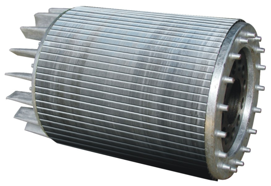 electric motor core stator and rotor lamination