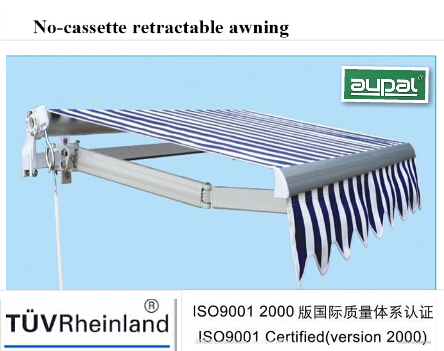 Economic Retractable Awning (manual or remote control ...