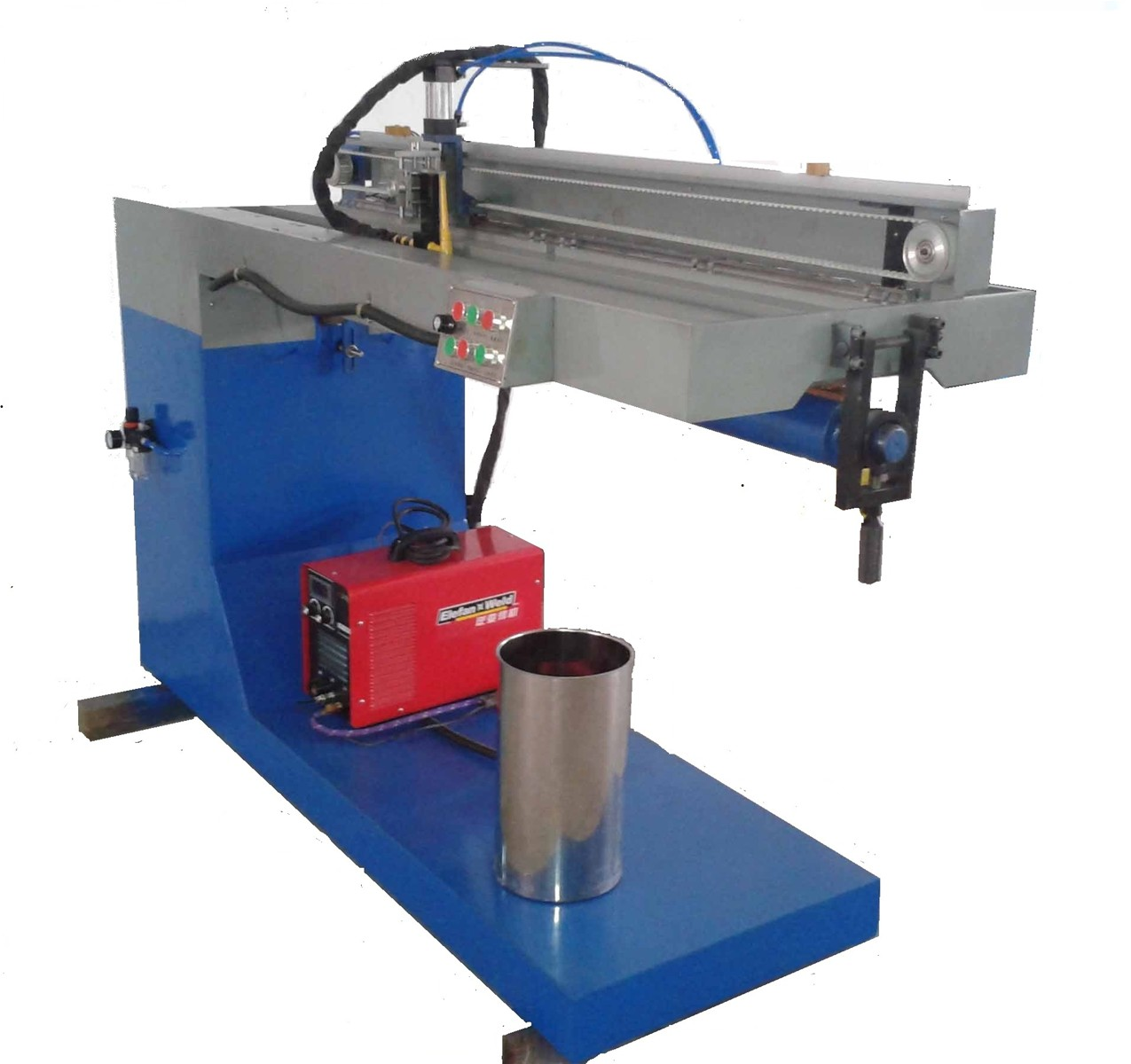 Stainless Steel Plate Rolling Machining South Africa: Stainless Steel Automatic TIG Straight Seam Welder