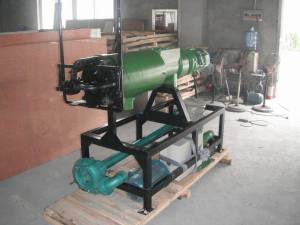 Animal Farm Cleaning Manure Dewatering Machine