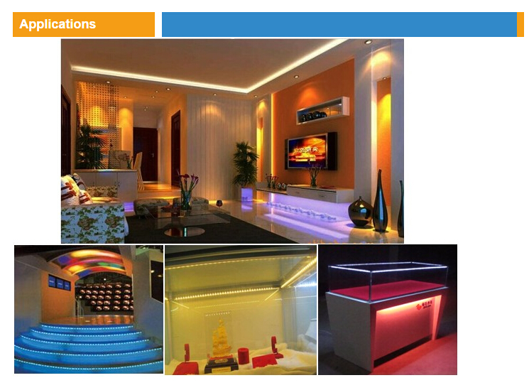 2016 5050 LED Strip RGBWWW 72LEDsm DC24V 5 colors 5050 RGBW LED Strip