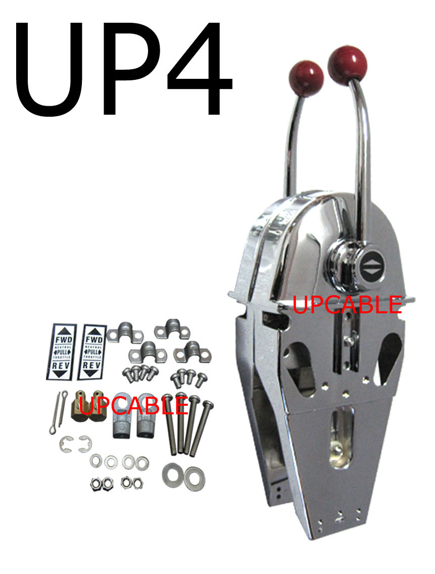 Up4 Morse Type Double Twin Lever Marine Engine Control