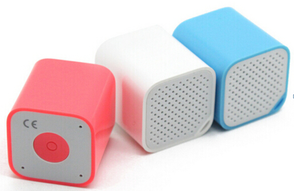 Square Colorful  Super mini bluetooth speaker