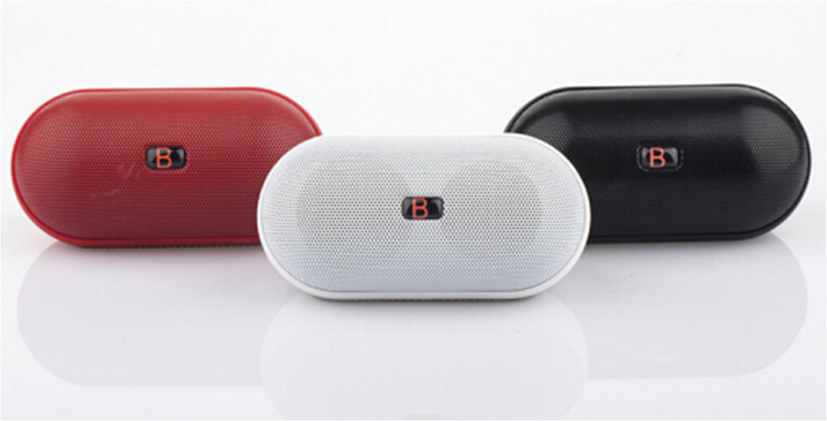 Hot Pill Shape bluetooth speakers