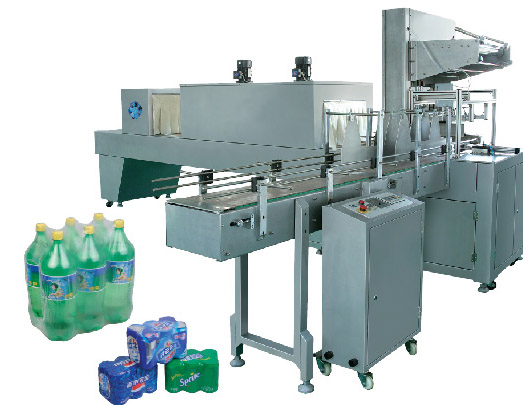 Industrial Fully Automatic wrap shrinking packaging machine High speed 10 carton/M