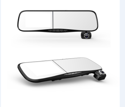 4.3 Inch Rearview Mirror GPS with Front Camera