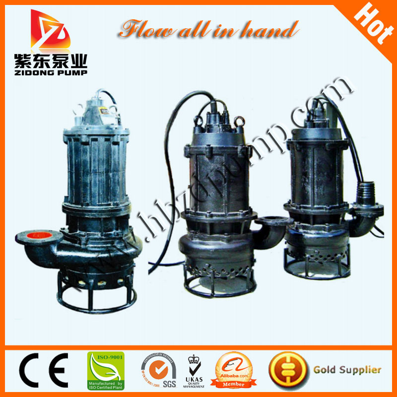 anti wear submersible sand pump for dredging from China