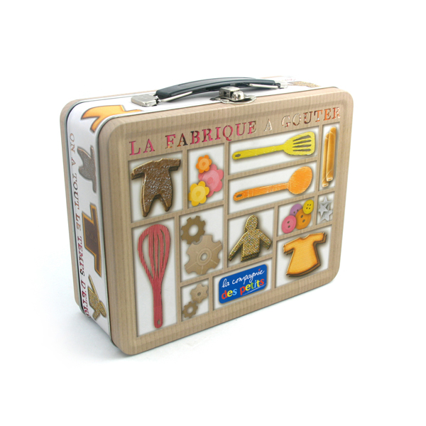 Dongguan square metal lunch box supplier