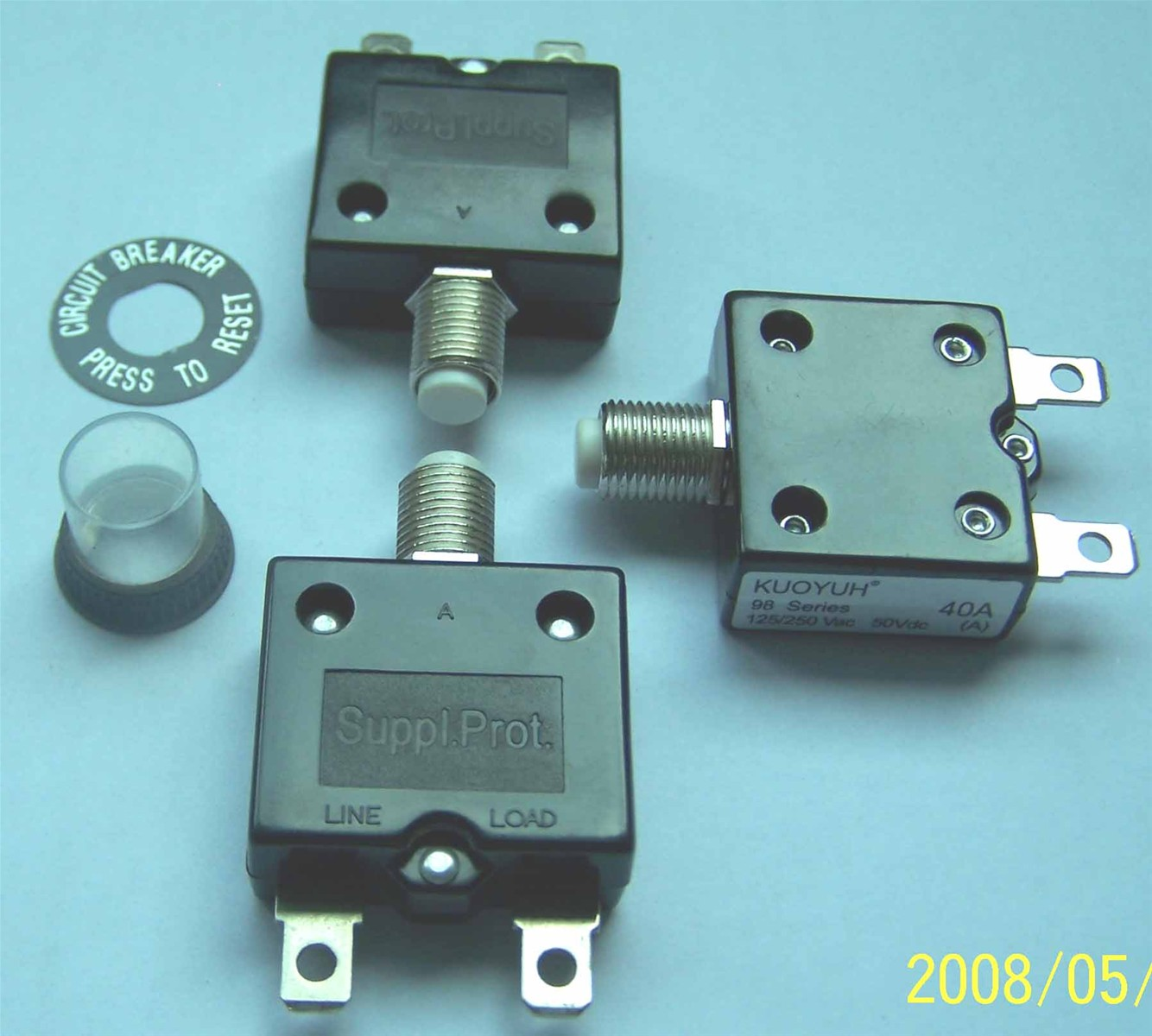 40A overload current circuit breaker purchasing, souring agent ...