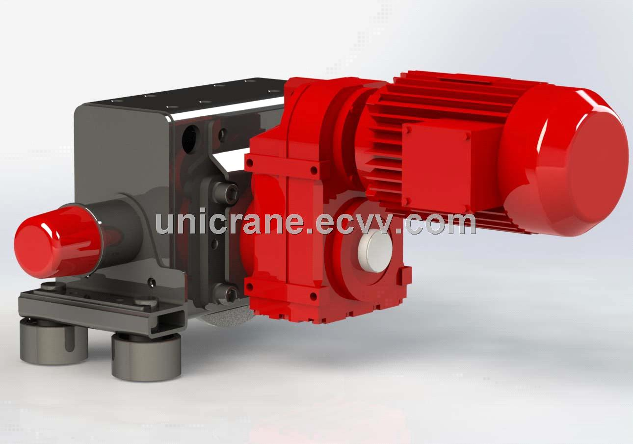 Euro-style modularized end carriages innovative design for Eot crane