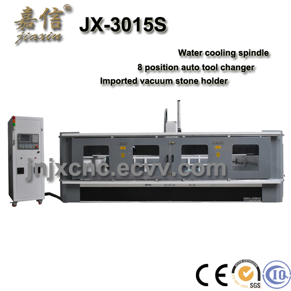 JX-3015S  JIAXIN CNC Kitchen top profiling and polishing machine