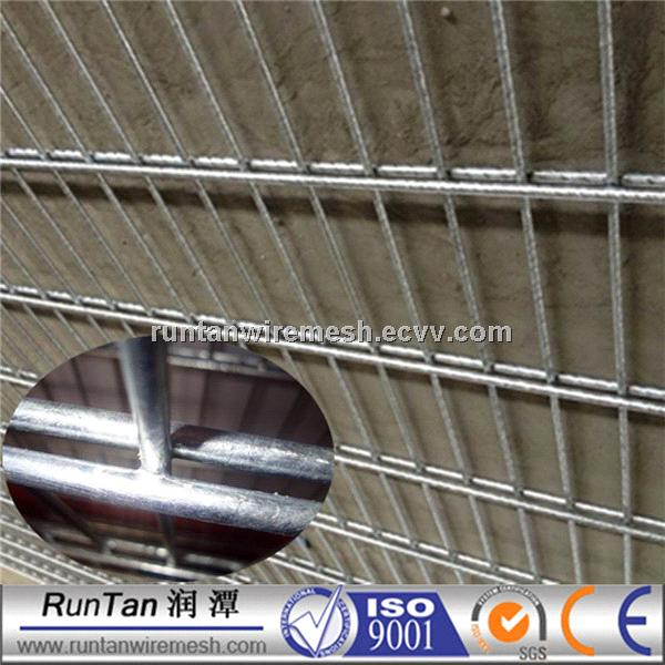 PVC welded double wire mesh fence