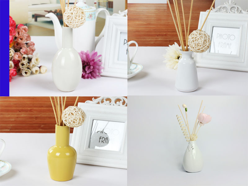 Ceramic Reed diffuser, home essence bottle