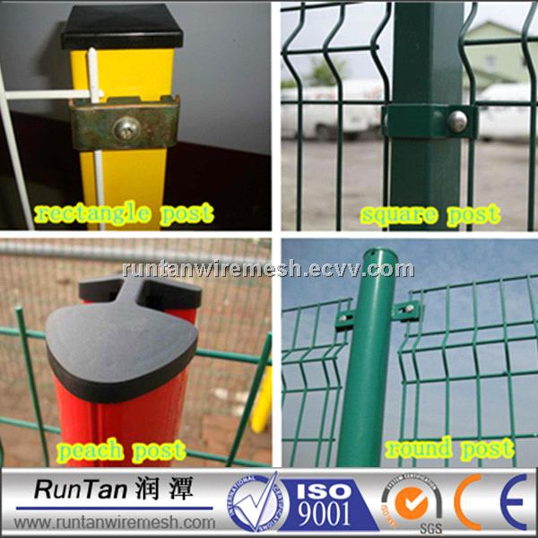 3D PVC coated welded wire mesh fence in china