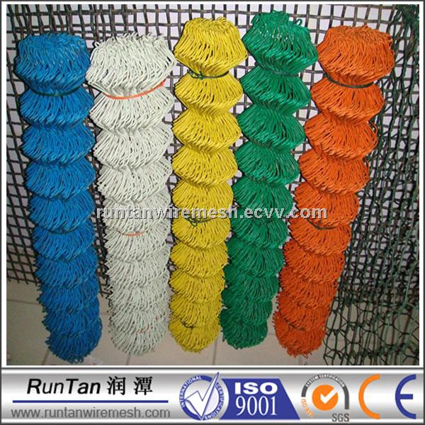 PVC coated Chain wire fence