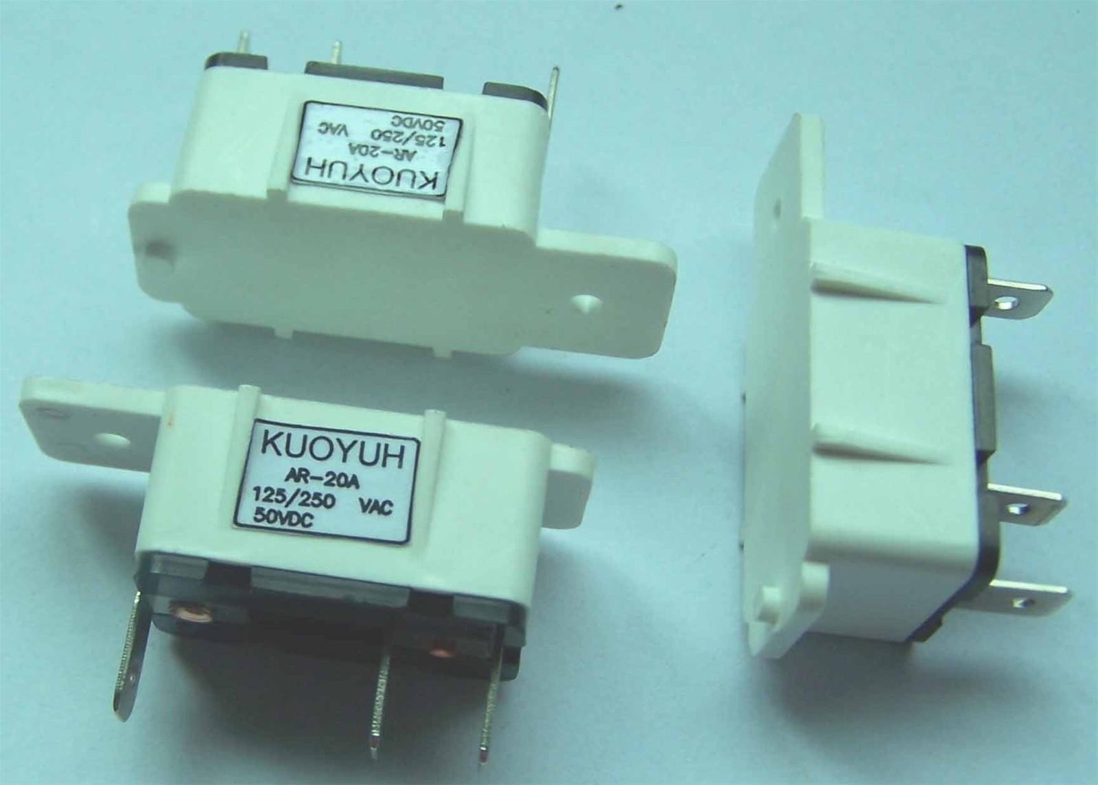 mini auto reset circuit breaker for auto mobile reset switch ...