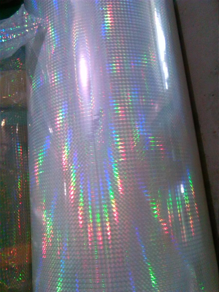 Bopp Holographic Transparent Film For Lamination Printing