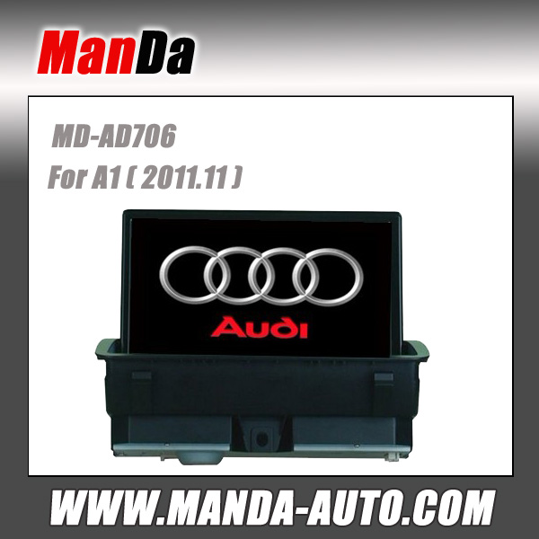 in car multimedia for Audi A1 2011.11 car gps navigation dvd player satellite radio in-dash audio