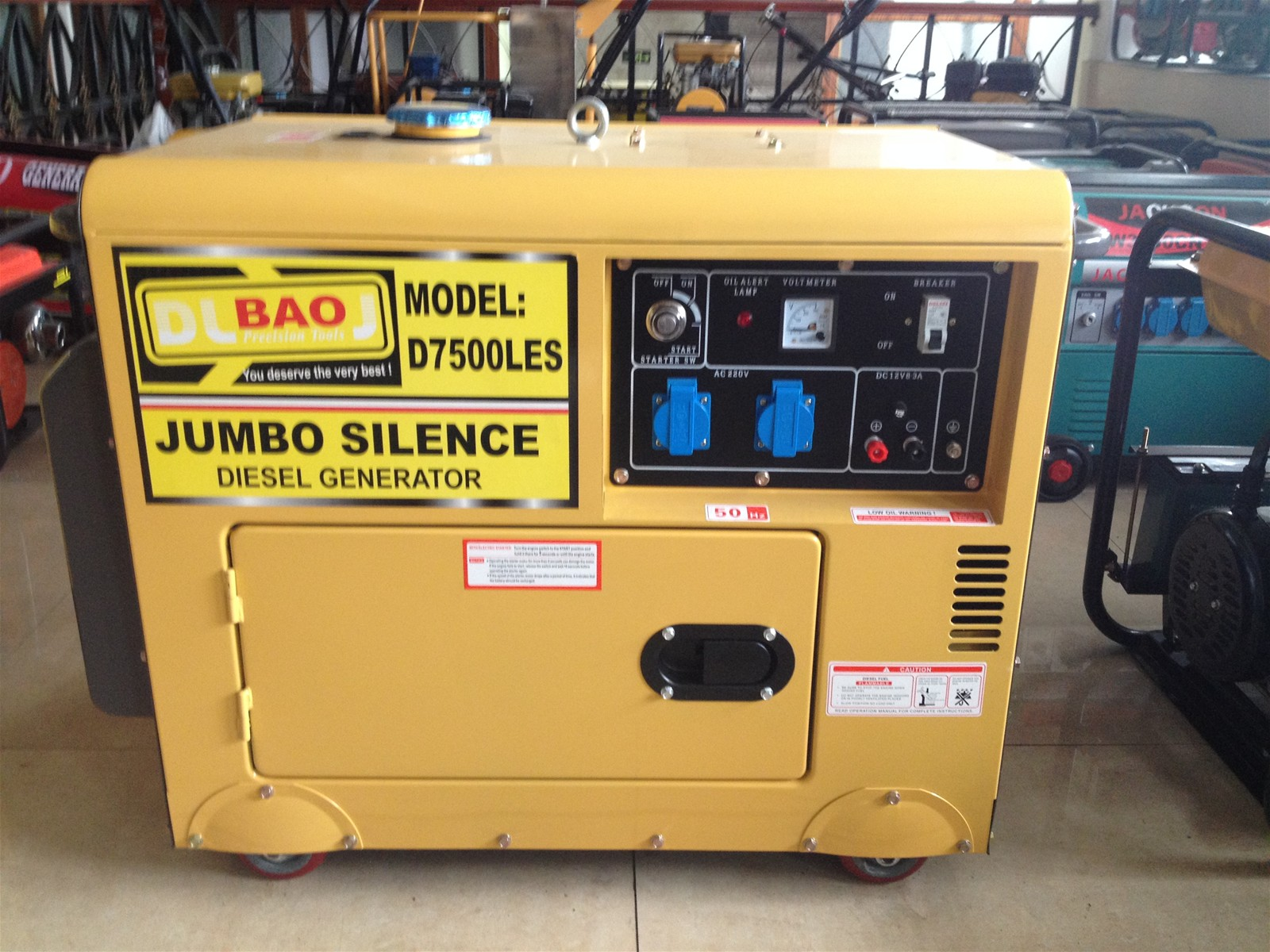 5KW Disel generators with strong power slient better price for you