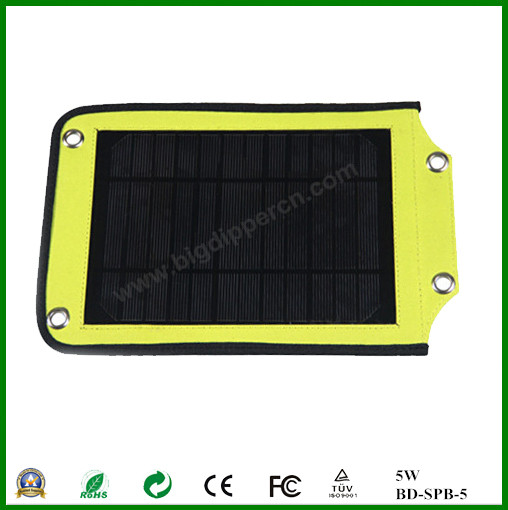 5W 5V portable solar panel charger for mobile phone,tablet,mp3