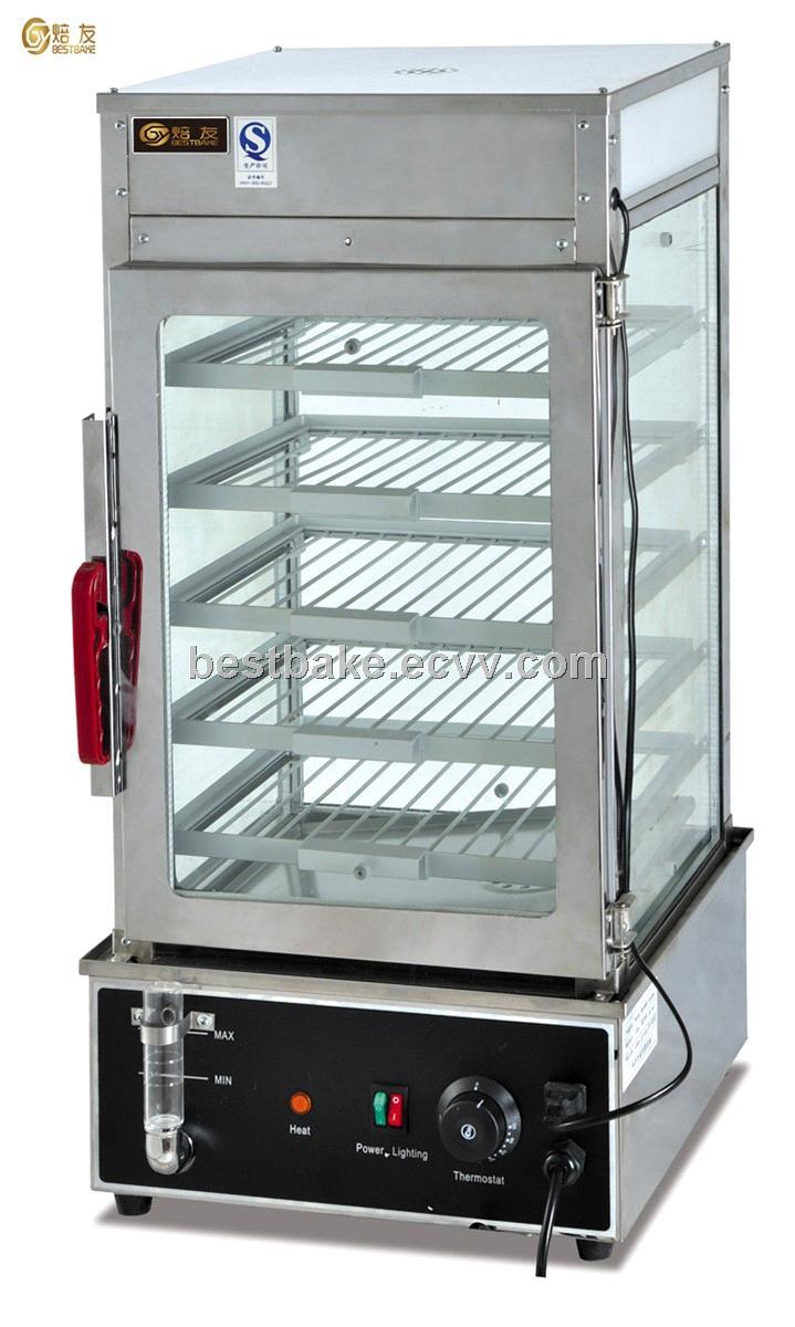 Electric stainless steel bread steamer/food display steamer EH-450 ...