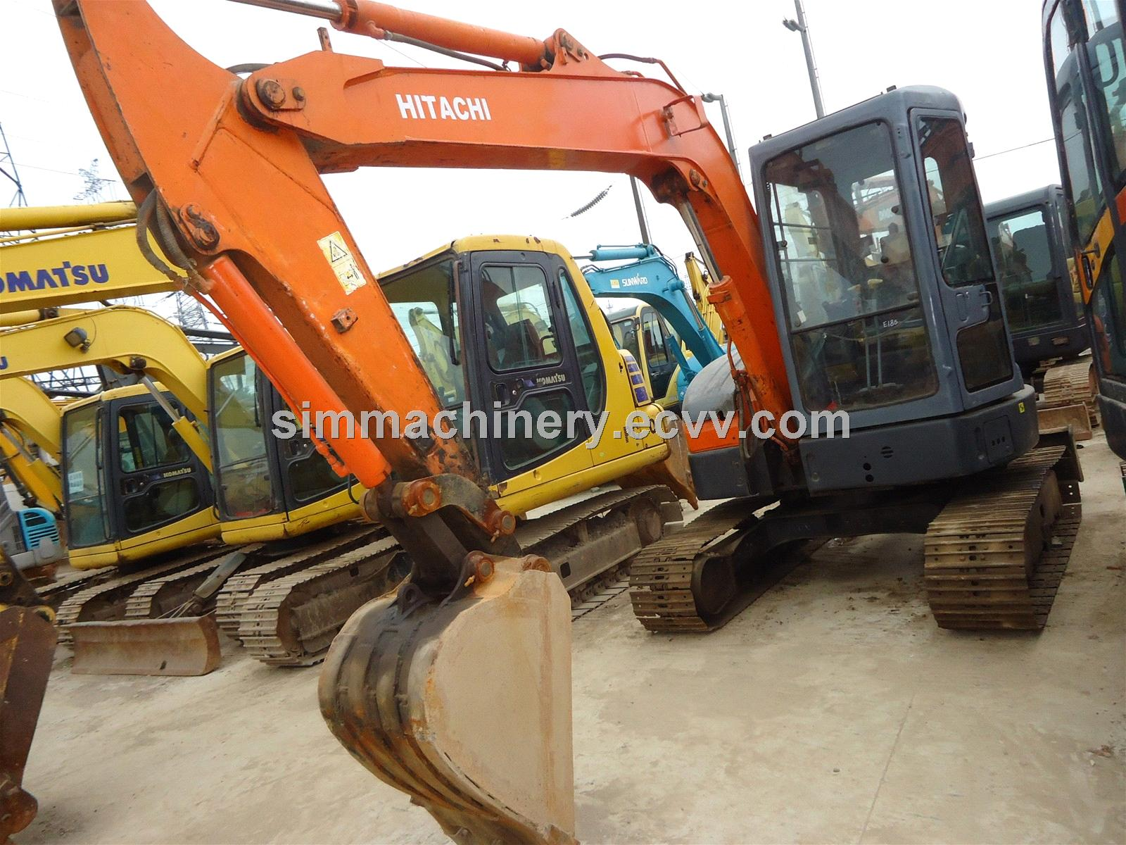 used hitachi zx55 new arrival small excavator fixxed with ripper promotion  product