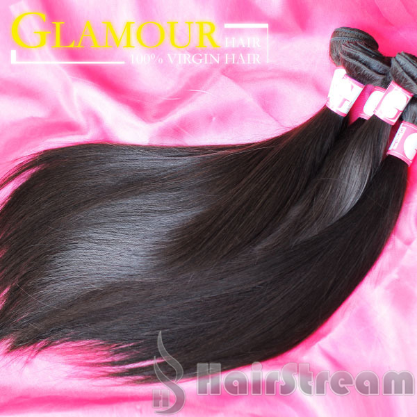 Human Hair Weave 12 Inches 40 Inches Silky Straight Virgin Remy