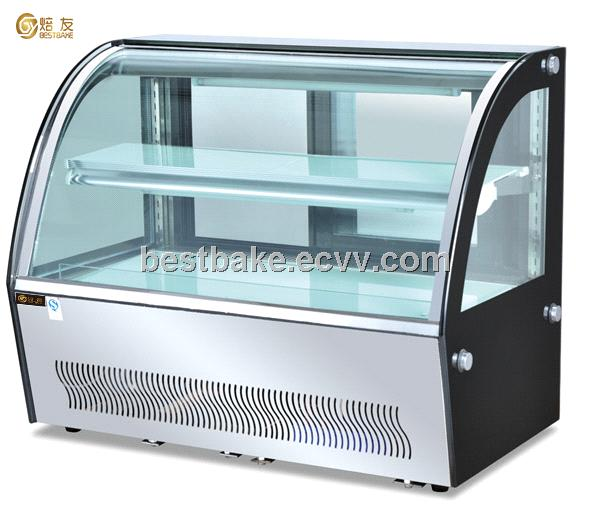 Counter top cake display cabinet BY-CTD900