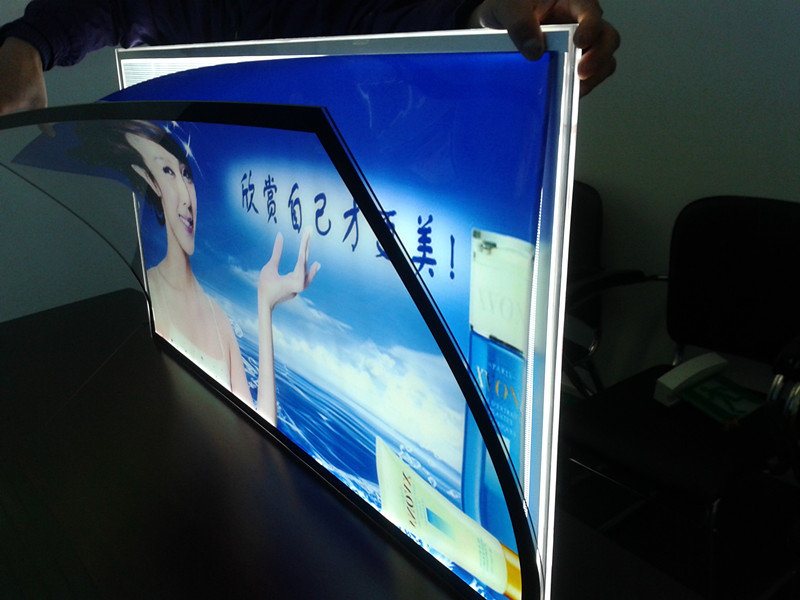 Led Magnetic Acrylic Graphic Frame Sign From China