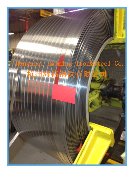 cold rolled stainless steel strip grade 201 round edge from