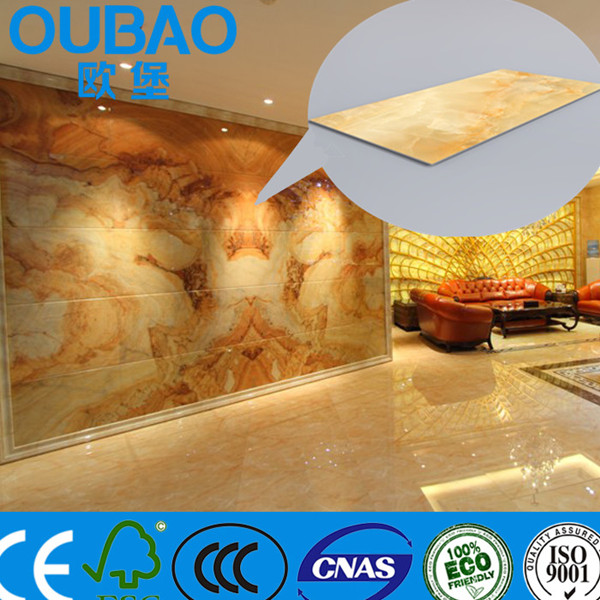 Cheaper Than Natural Granite ! Low Price Decorative Faux Stone Plastic  Composite Thin Granite Slabs