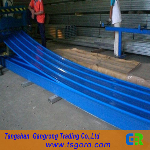ppgi pre-painted or cgcc color coated corrugated steel roofing sheet