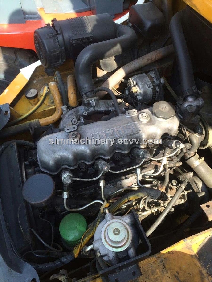 TCM 3t manual transmission forklift used TCM diesel engine 3t lifter for sale