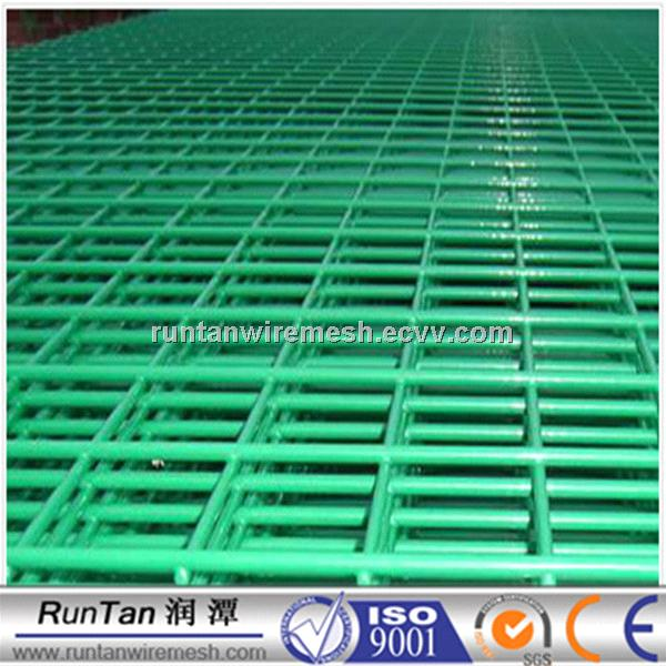 Pvc coated galvanized Welded Wire Mesh for garden fence