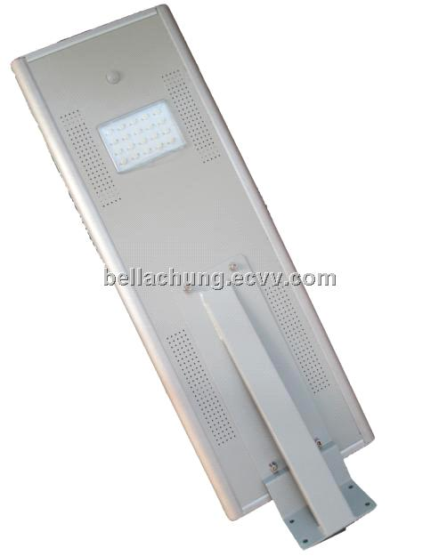 New hot sale 1800lm LED Integrated Solar Street Light 18W