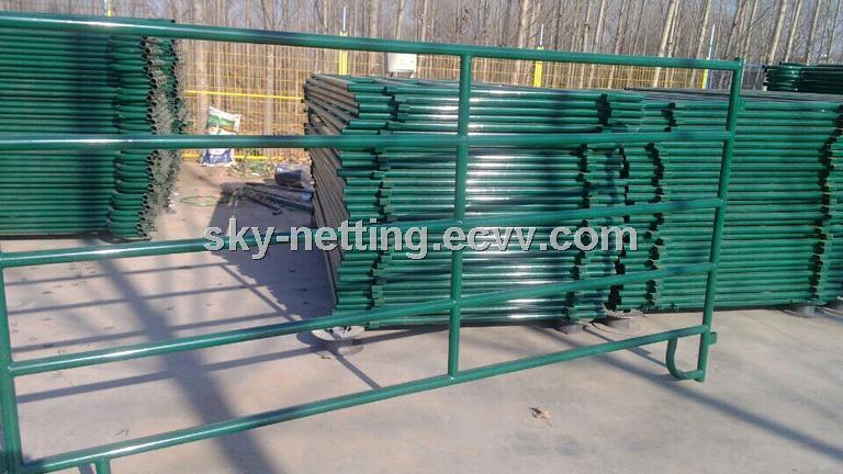 Powder Coated 5FT*10FT Ranch Steel Livestock Panel/Horse Panel ...