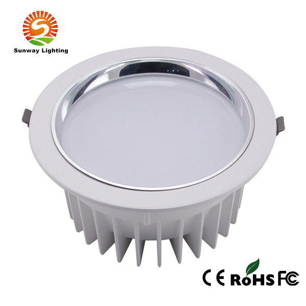 8 Inch LED Downlight 24W 230mm SMD5730,High Power LED Ceiling Downlight