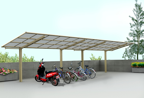 2015 modern mini style bicycle motorcycle carport