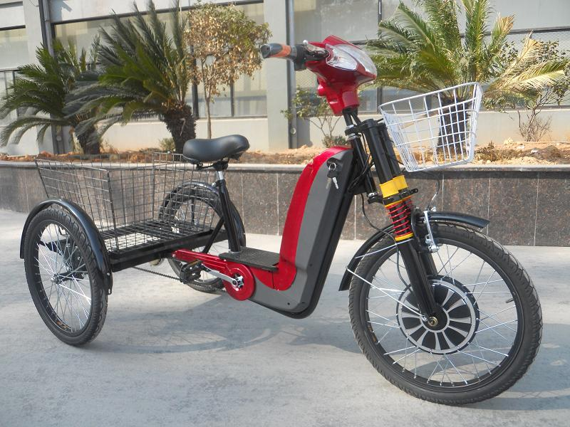 Electric Bike With 3 Wheels
