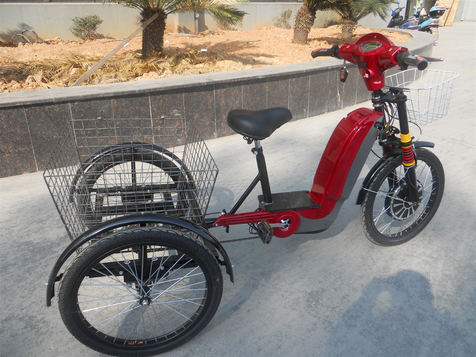 Electric Cargo Tricycle With 3 Wheel From China Manufacturer Manufactory Factory And Supplier On Ecvv Com