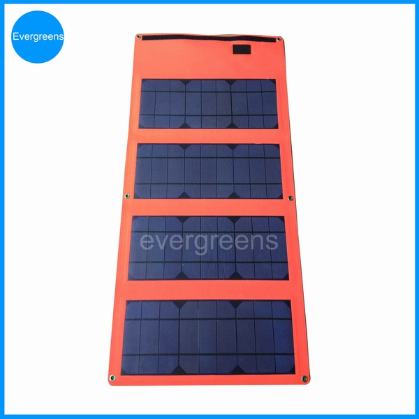 36W monocrystal  folding 19v solar laptop charger