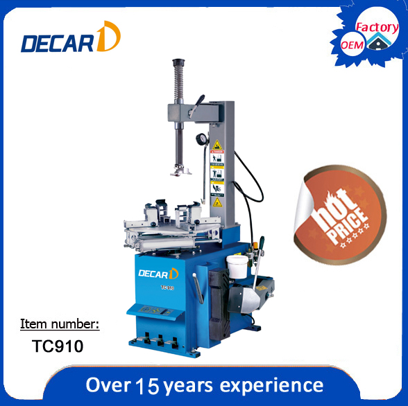 CE TC910 motorcycle tire changer machine for sale 6