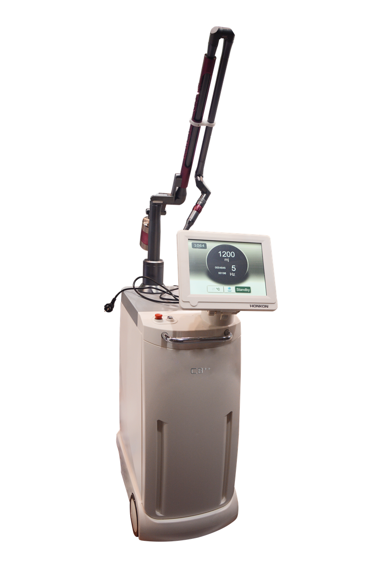Q-switched Nd:YAG laser machine