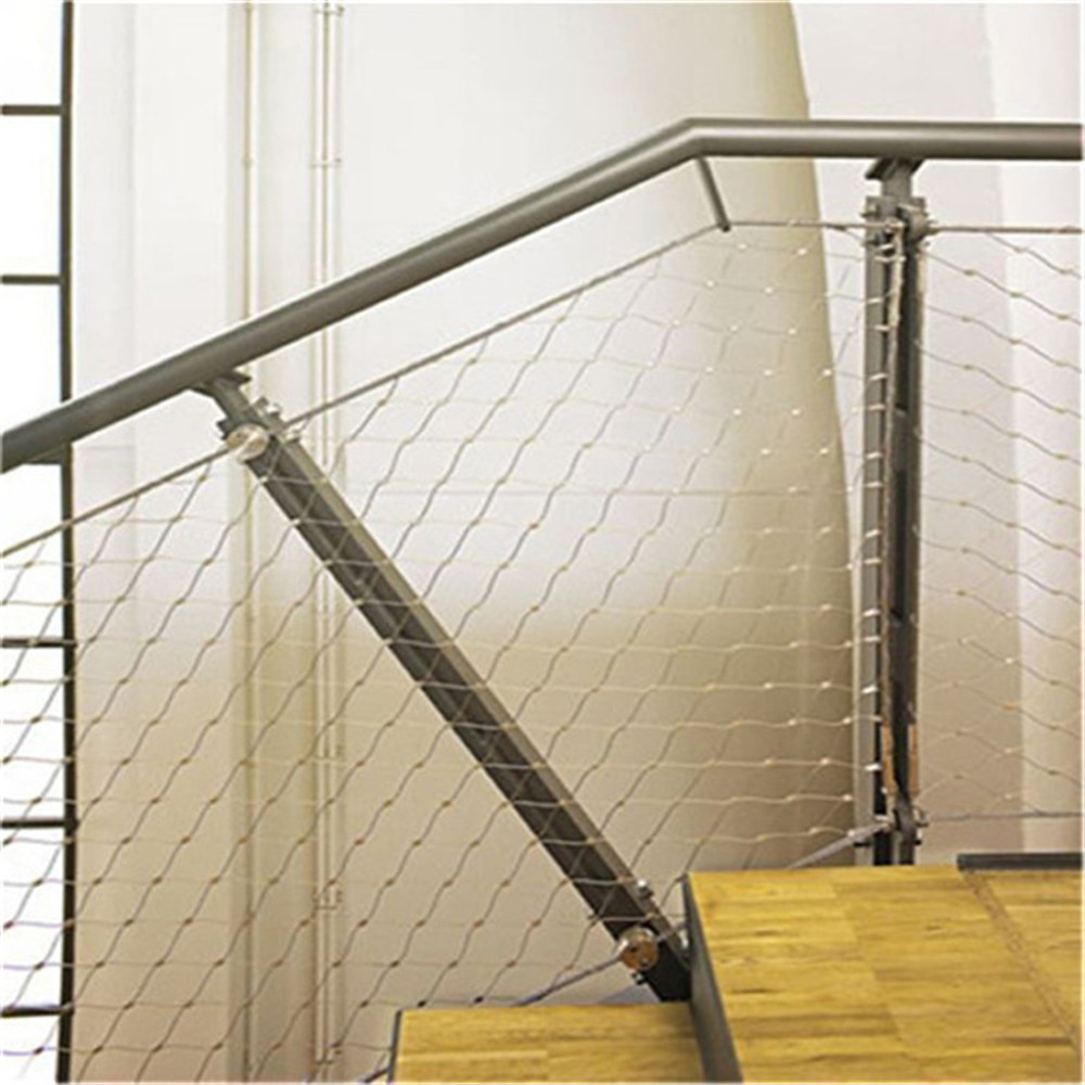 durable and flexible stainless steel handrail security cable net purchasing souring agent. Black Bedroom Furniture Sets. Home Design Ideas