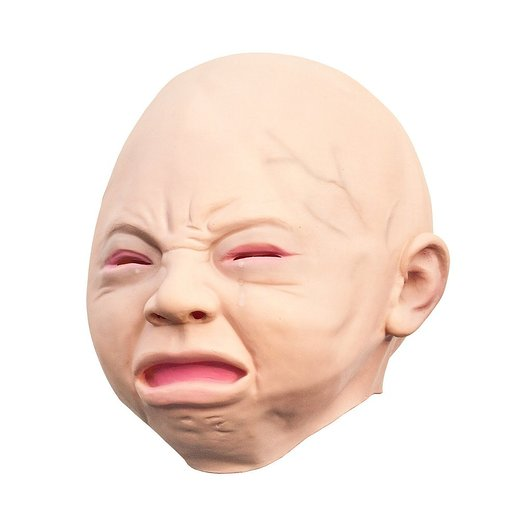 latex crying baby mask angry baby mask happy baby mask purchasing