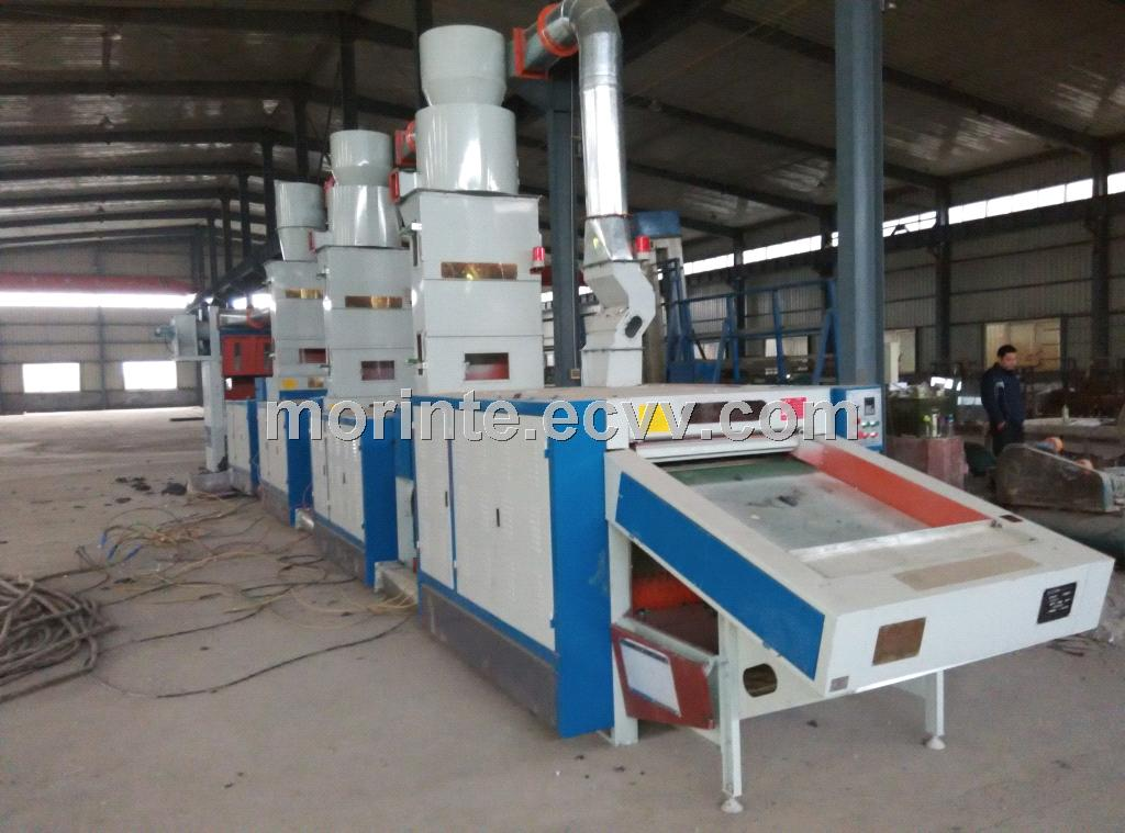 New design cotton recycling machine